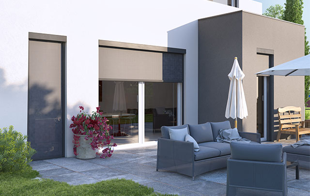 store vertical exterieur pour terrasse free stores verticaux with store vertical exterieur pour. Black Bedroom Furniture Sets. Home Design Ideas