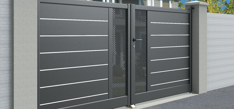 Faire Son Portail En Fer choisir un portail en aluminium pour sa longévité - roche
